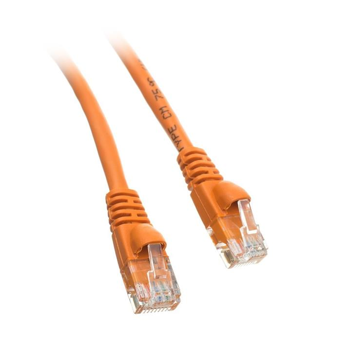 Image of 8ware Cat 6a Utp Ethernet Cable, Snagless Cat6a Orange 0.25m