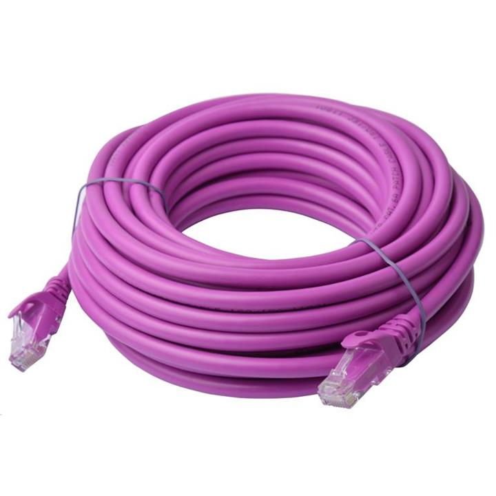 Image of 8ware Cat6a Utp Ethernet Cable 10m Snagless�purple