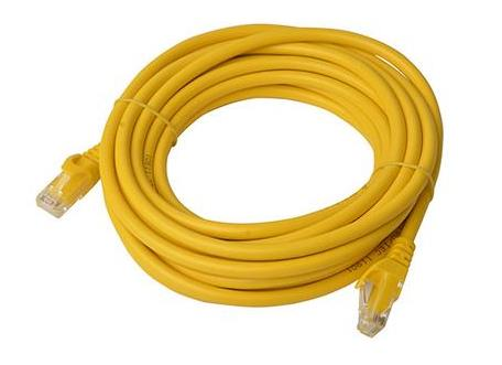 Image of 8ware Cat6a Utp Ethernet Cable 5m Snagless�yellow