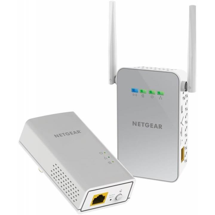 Image of Netgear Plw1000 Powerline Wifi 1000 Bundle (1 X Pl1000, 1 X Plw1000 Access Point)