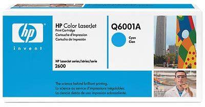 Image of Hp Clj 2600 Series Cyan Print Cartridge Toner Q6001a