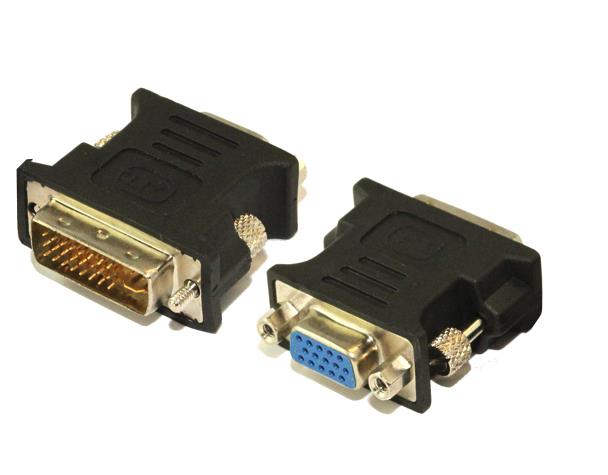 Image of Dvi-i (m) To Vga (f) Adapter Male To Female
