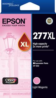 Image of Epson 277xl High Yield Light Magenta Ink Cartridge 740 Pages T278692