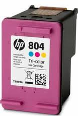 Image of Hp 804 Tri-color Original Ink Cartridge T6n09aa