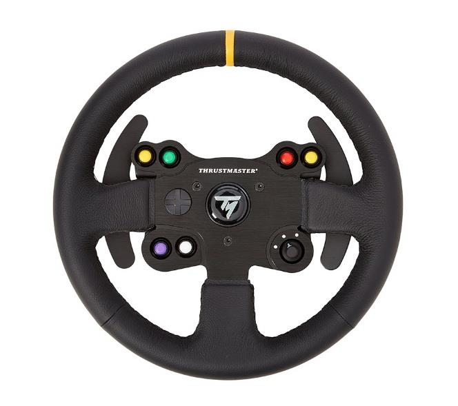 Image of Thrustmaster Tm-4060057 Leather 28 Gt Wheel Add On For T-series Racing Wheels