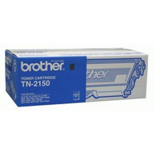 Image of Brother Tn-2150 Black Toner Cartridge Genuine
