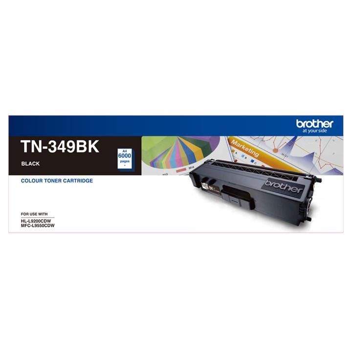 Image of Brother Tn-349bk Super High Yield Black Toner Genuine
