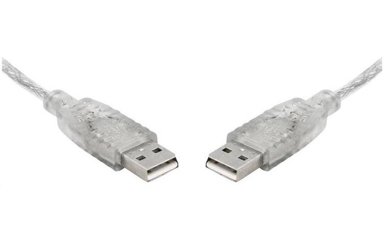 Image of 8ware Usb 2.0 Certified Cable A-a 5m Transparent Metal Sheath Ul Approved