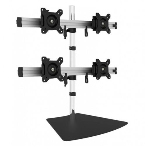 Image of Visionmounts Quad Four Display Screen Desk Arm Bracket Stand