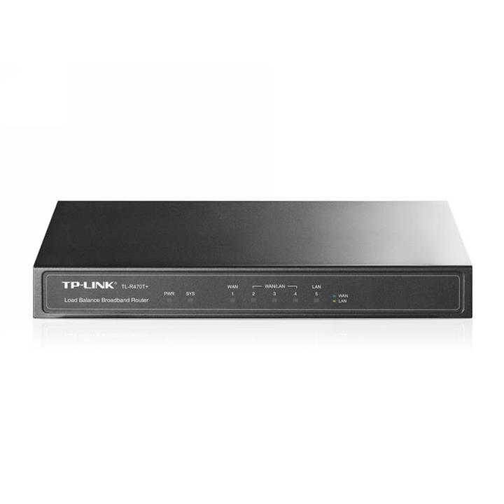 Image of Tp-link Tl-r470t+ V4 Load Balance Broadband Router With Qos