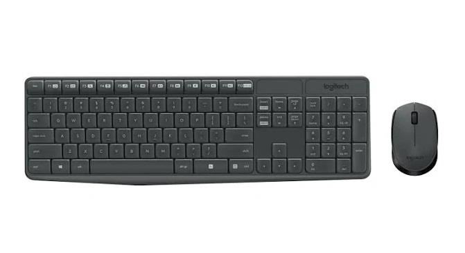 Image of Logitech Mk235 Wireless Keyboard And Mouse Combo Black 920-007937
