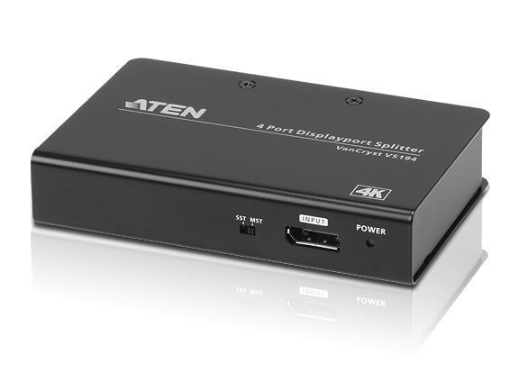 Image of Aten Vs194-at-u 4 Port 4k Displayport Splitter