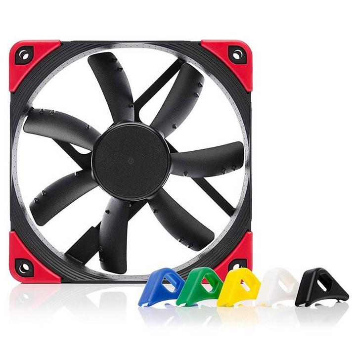 Image of Noctua 120mm Nf-s12a Pwm Chromax.black.swap 1200rpm Fan