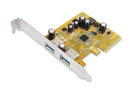 Image of Sunix Usb2312 Sunix Usb3.1 Enhanced Superspeed Dual Ports Pci Express Host Card With Usb-a
