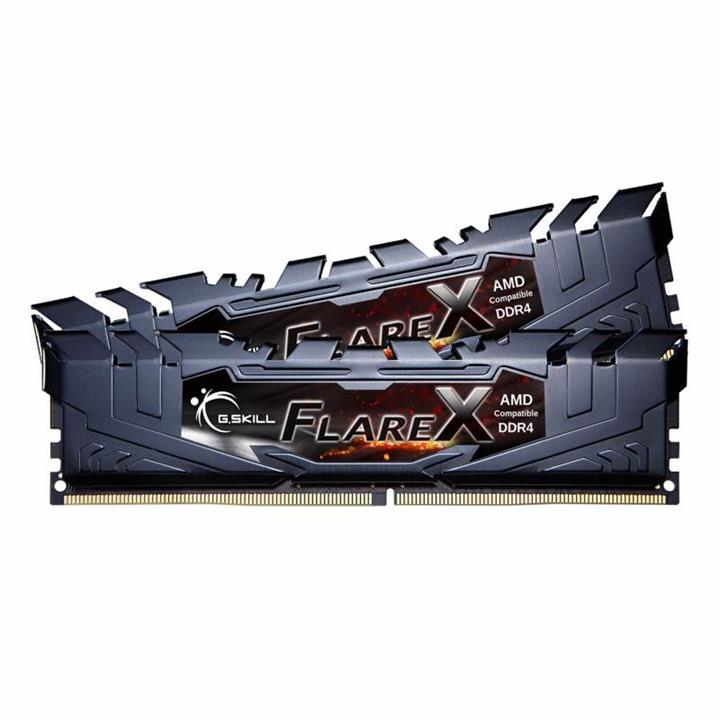Image of G.skill Flare X 32gb (2x 16gb) Ddr4 2400mhz Memory Black F4-2400c15d-32gfx