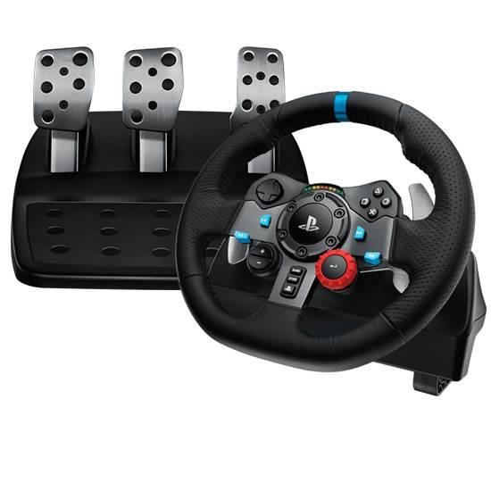Image of Logitech G29 Driving Force Racing Wheel - Ps3, Ps4, Pc 941-000115