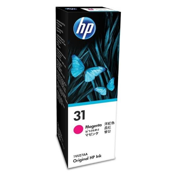 Image of Hp 31 Magenta Original Ink Bottle 1vu27aa