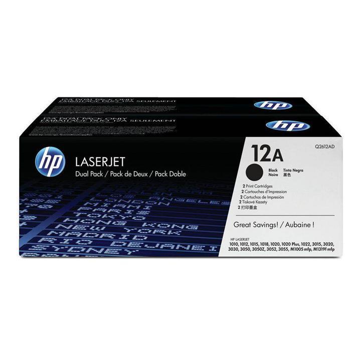 Image of Hp Laser Jet 1000/3000 Cartridge Dual Pack