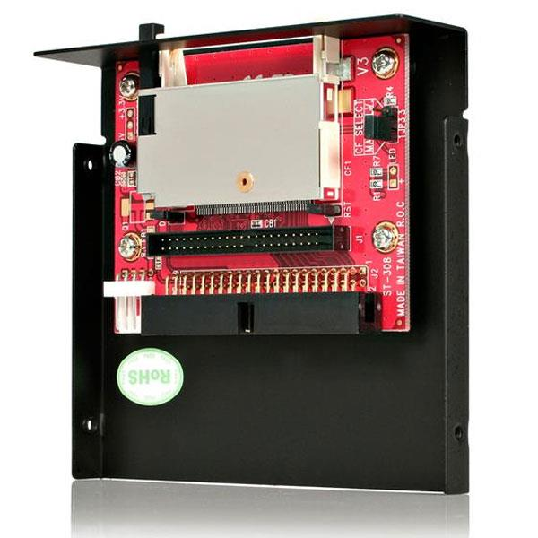 """Image of Startech 2.5"""" Drive Bay Ide To Cf Adapter Card"""