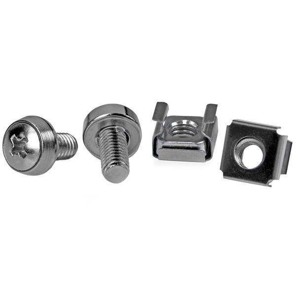 Image of Startech Cabscrewm6 50 Pkg M6 Mounting Screws And Cage Nuts