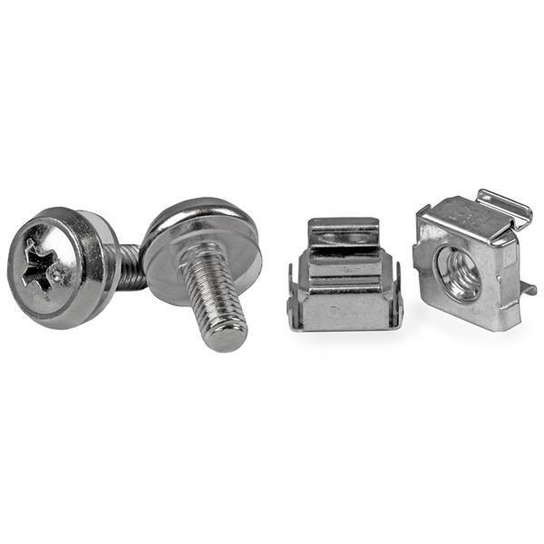 Image of Startech Cabscrewm5 50 Pkg M5 Mounting Screws And Cage Nuts