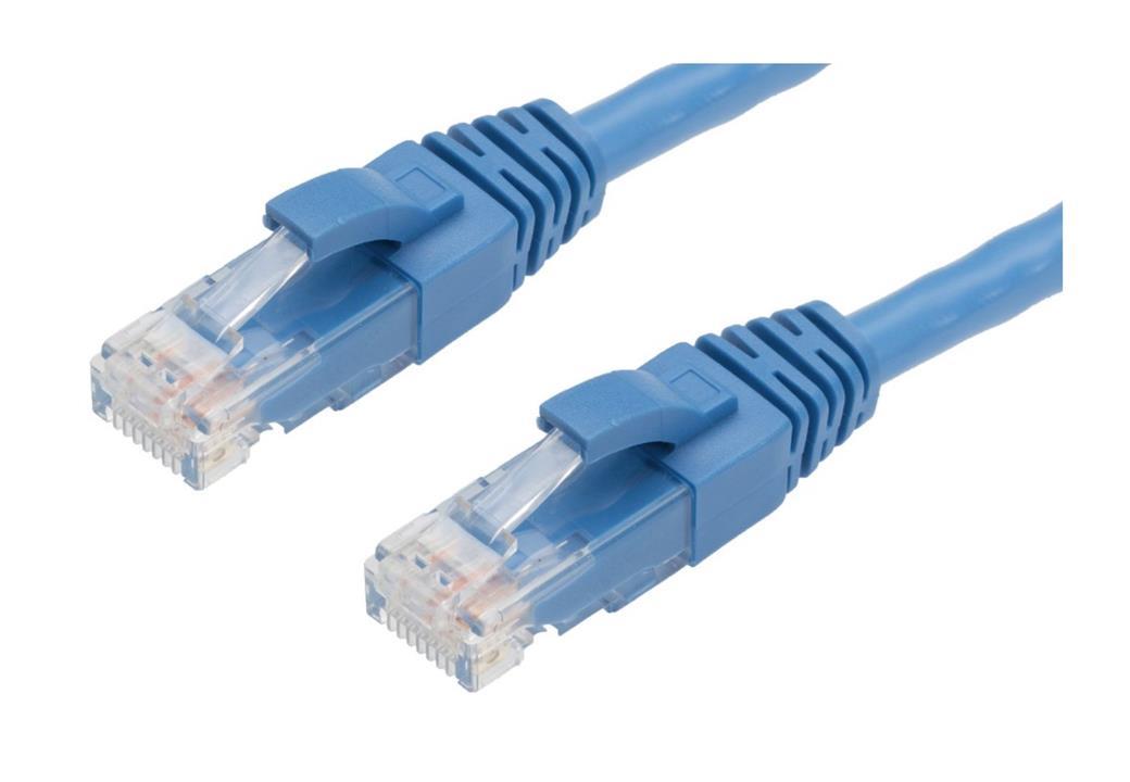 Image of Generic Cat6-10m Blue Network Cable: Cat6/6a Rj45 10m Blue