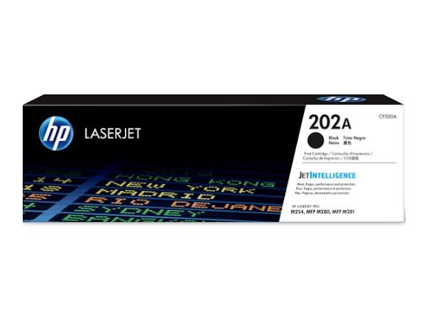 Image of Hp 202a Original Black Laserjet Toner Cartridge Cf500a