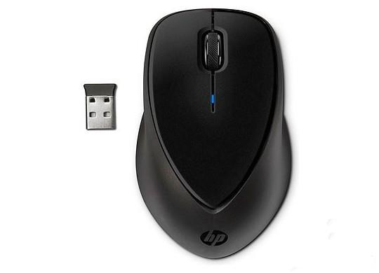 Image of Hp Comfort Grip Wireless Mouse, Black, Nano Usb