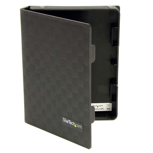 Image of Startech 2.5in Anti-static Hard Drive Protector Case - Black (3pk) Hddcase25bk