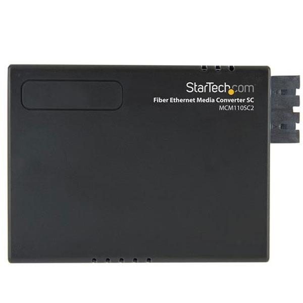 Image of Startech Fiber To Ethernet Media Converter Sc