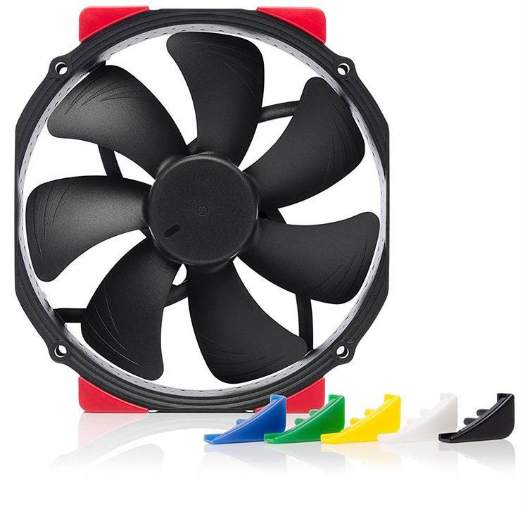 Image of Noctua 120mm Nf-a15 Hs-pwm Chromax.black.swap 1500rpm Fan