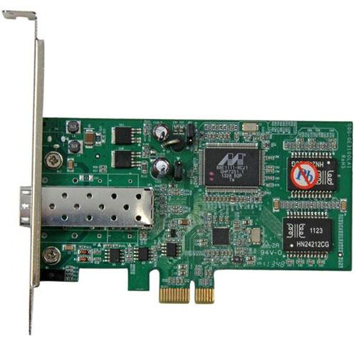 Image of Startech Pcie Gbe Fiber Network Card - Open Sfp Pex1000sfp2