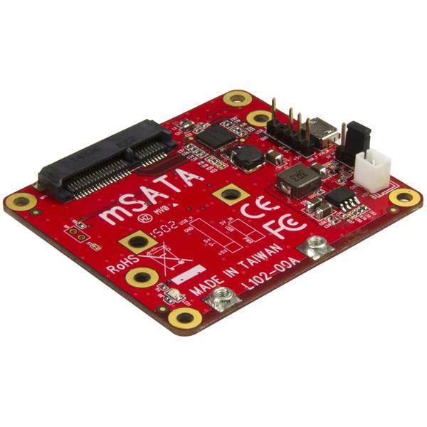Image of Startech Pib2ms1 Usb To Msata Converter For Raspberry Pi