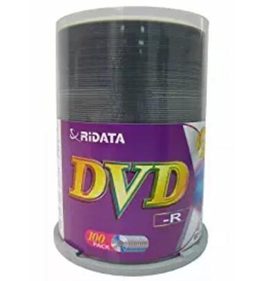 Image of Ritek R16xdvd-r-100 16x Dvd-r: 4.7gb Spindle 100pc Printable
