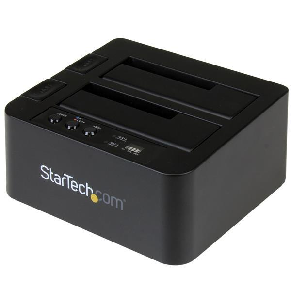 Image of Startech Sdock2u313r Usb 3.1 Hdd Duplicator Dock Ssd / Hdd