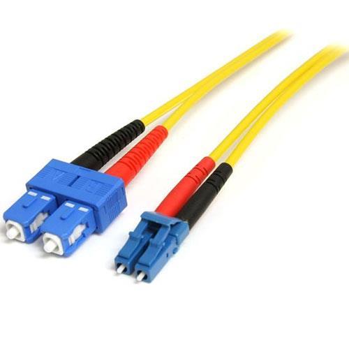 Image of Startech 4m Single Mode 9/125 Duplex Fiber Patch Cable Lc - Sc Smfiblcsc4