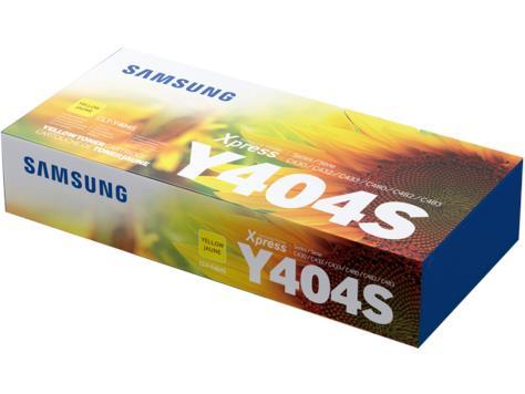 Image of Samsung Clt-y404s Yellow Toner Cartridge (su457a)