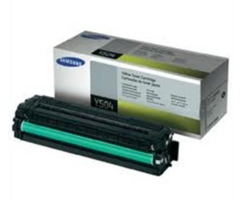 Image of Samsung Clt-y504s Yellow Toner Cartridge (su504a)
