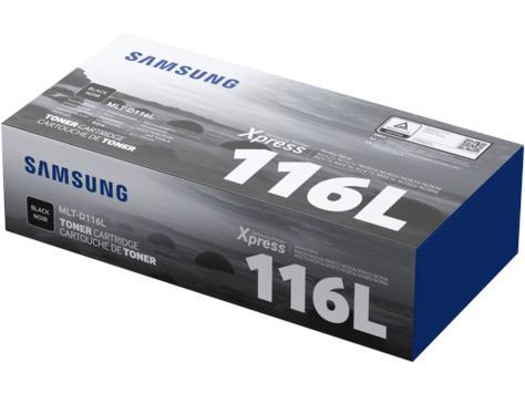Image of Samsung Mlt-d116l High Yield Black Toner Cartridge
