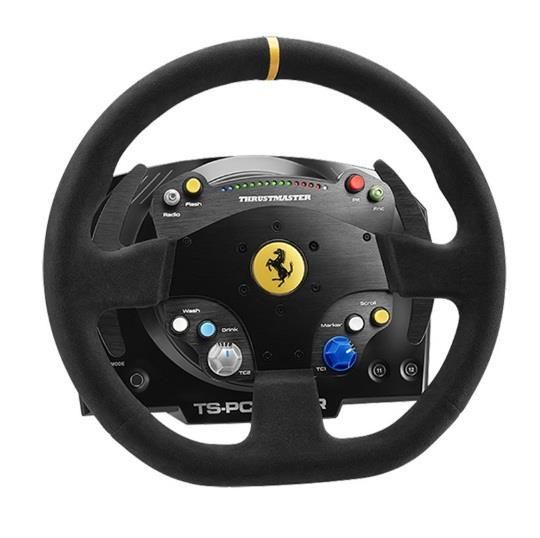 Image of Thrustmaster Tm-2960799 Ts-pc Racer Ferrari 488 Challenge Edition Force Feedback Racing Wheel For Pc