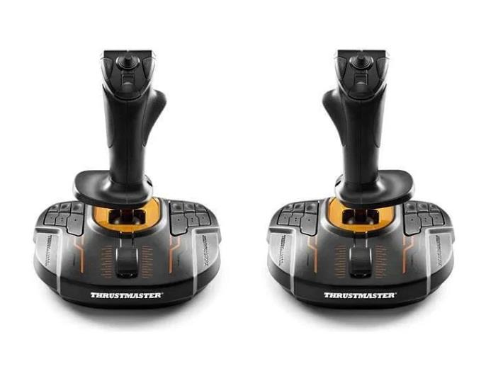 Image of Thrustmaster Tm-2960815 Dual T.16000m Fcs Joystick Space Sim Pack For Pc