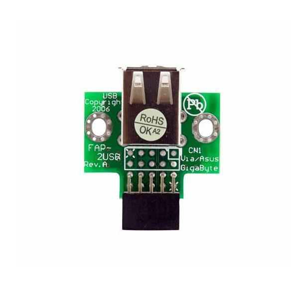 Image of Startech Usbmbadapt2 2 Port Usb Motherboard Header Adapter