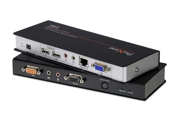 Image of Aten Ce770-at-u Usb Vga Kvm Console Extender With Deskew, Audio & Rs232 - 1920x1200
