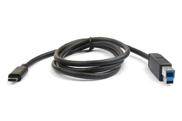 Image of 8ware 1m Usb 3.1 Type-c To B Male-male Cable