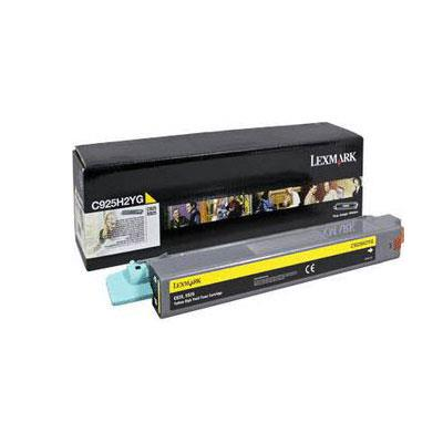 Image of Lexmark C925h2yg High Yield Yellow Toner 7,500 Pages Yellow