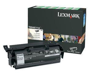 Image of Lexmark Print Cartridge 1 X Black 7000 Pages (t650a11p)