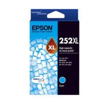 Image of Epson 252xl Cyan Ink Cartridge Suits Wf3620/3640/7610/7620