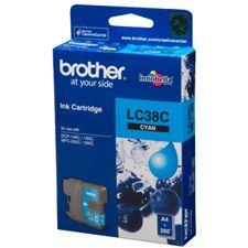 Image of Brother Lc-38c Cyan Ink Suits Dcp-165c