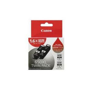 Image of Canon 650xl Twin Pack Black