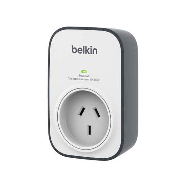 Image of Belkin 1 Outlet Wallmount Surge Protector (bsv102au)